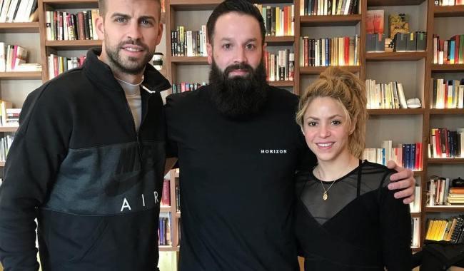 Shakira e Piqué estiveram em hotel luxuoso em Barcelona
