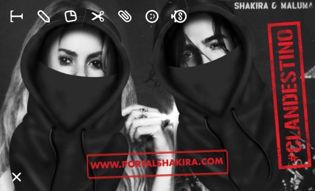 Shakira e Maluma ganha filtro no Snapchat