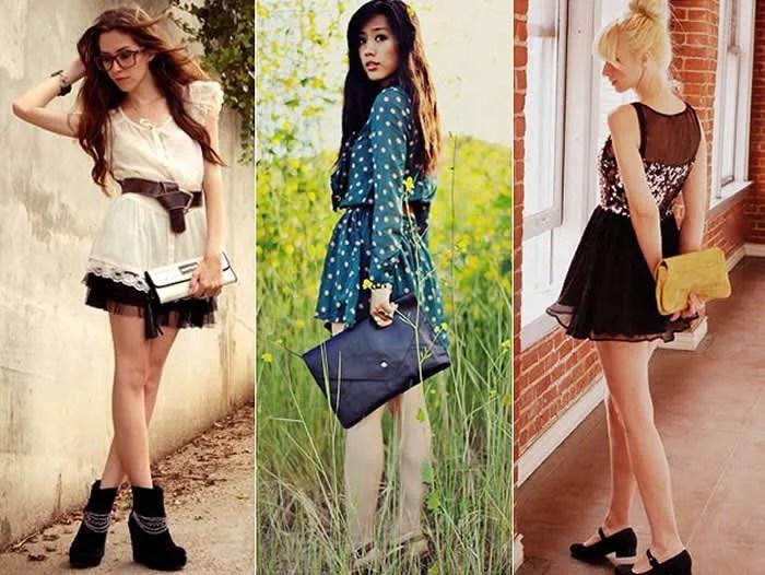 como-usar-bolsa-carteira-com-vestidos-passeio