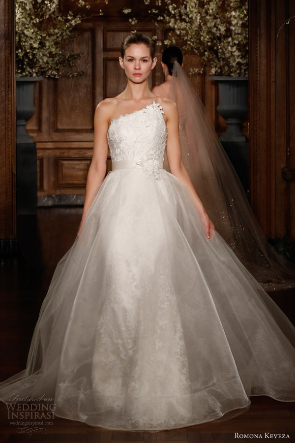 romona-keveza-spring-2014-bridal-millennium-wedding-dress-asymmetric-neckline