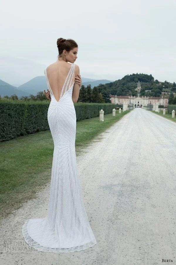berta-winter-2014-sleeveles-sheath-wedding-dress