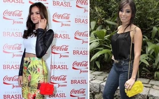 Bruna marquizine e Anitta apostaram na bolsa lego da grife Chanel