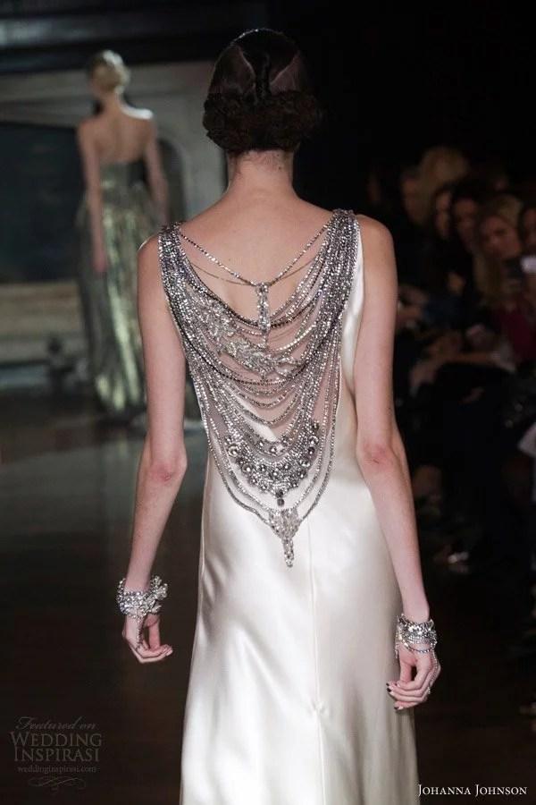 johanna-johnson-bridal-spring-2014-muse-sheath-wedding-dress-embellished-neckline-crystal-chains