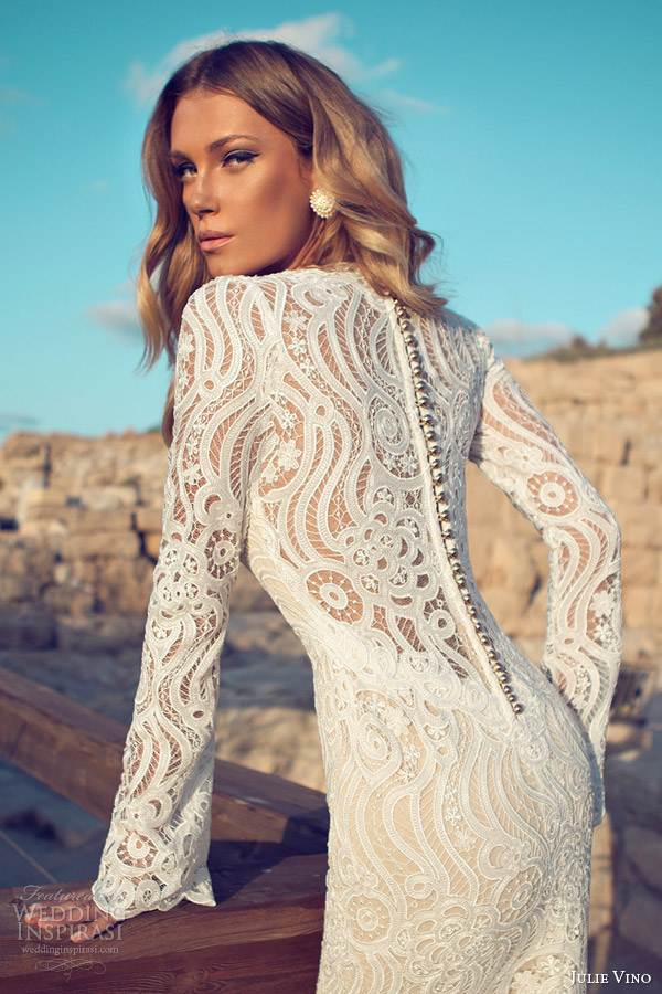 julie-vino-wedding-dresses-2014-bridal-long-sleeve-gown-scalloped-v-neck-back-row-of-buttons