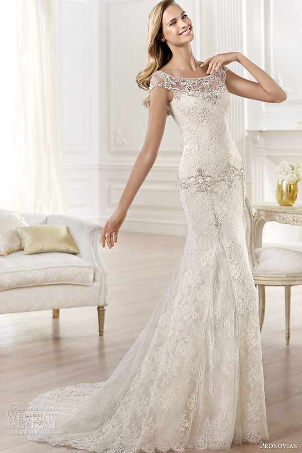 2-pronovias-atelier-2014-yalena-cap-sleeve-wedding-dress