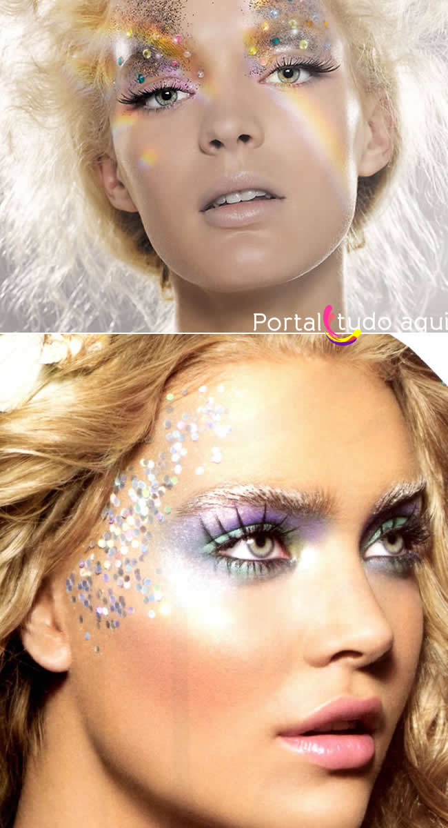 maquiagem-carnaval-com-lantejoulas-paetes-glitter