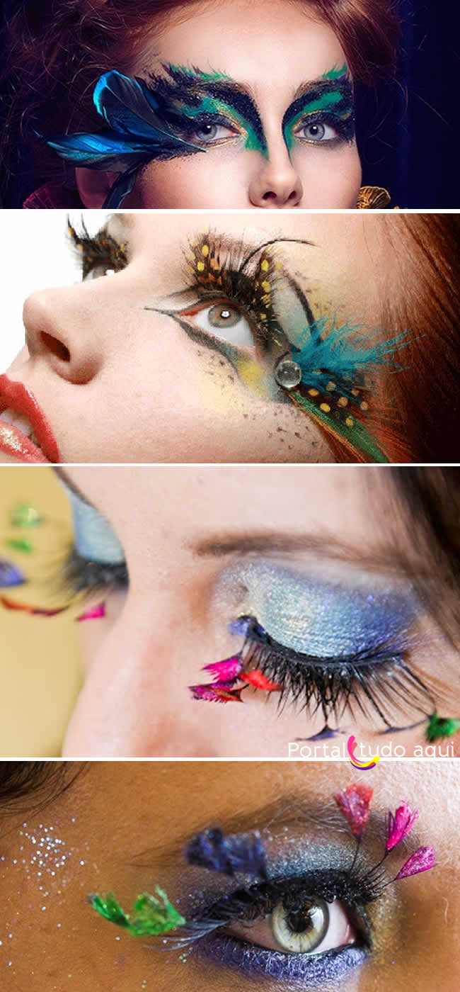 maquiagem-carnaval-plumas