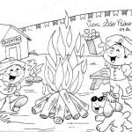 Cantoria na fogueira