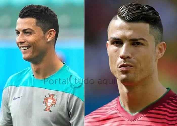 corte-de-cabelo-cristiano-ronaldo-copa-2014-antes-depois