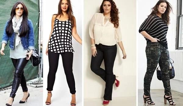 Modelos de calças plus size