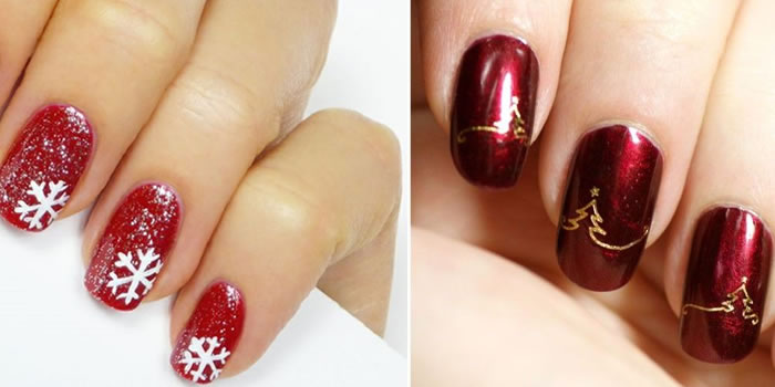 Unhas Decoradas Para O Natal Top 3 Tutorias Simples De