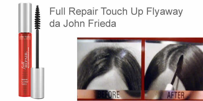 como-combater-o-frizz-produto-o Full Repair Touch Up Flyaway da John Frieda