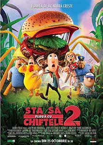 Cloudy with a Chance of Meatballs 2 (2013) Film Online Subtitrat