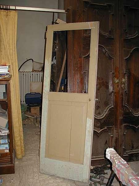 Vecchia porta a giorno laccata restaurata  Portantica