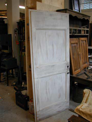 Vecchia porta riusata e trasformata in decap  Portantica