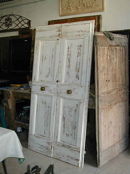 Porte antiche porta a due battenti in shabbY  Portantica