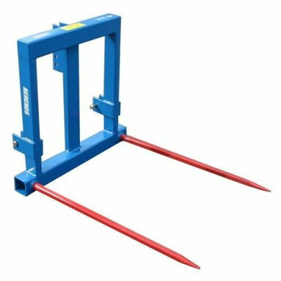 Bale spike 3 Point Linkage Two tines Bale Graber