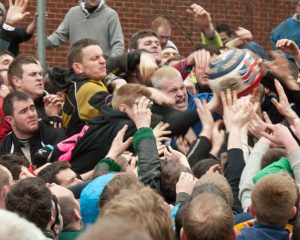Ashbourne shrovetide Football royal