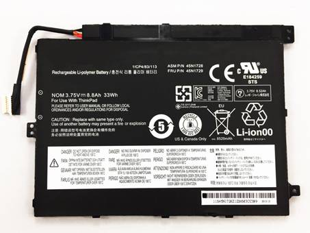 Batería para LENOVO 45N1727