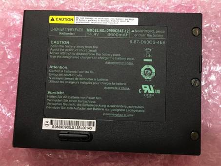 Batería para CLEVO D900CBAT-12