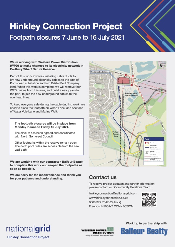 Hinkley Connection Update June 2021