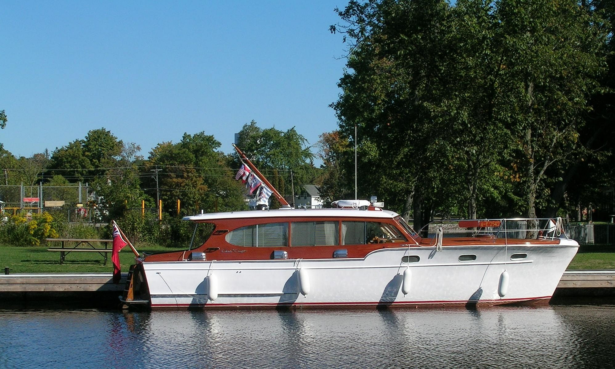 hight resolution of pb473 starboard side boat description chris craft
