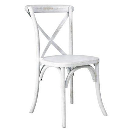 white x back chair metal and leather terrace port city rentals category chairs