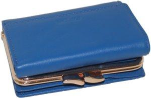 PATCHI beugel portemonnee licht blauw