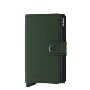 Secrid Mini Wallet Portemonnee Matte Green Black