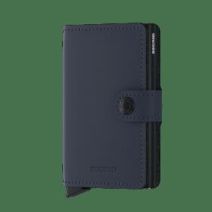 Secrid Mini Wallet Portemonnee Matte Night Blue
