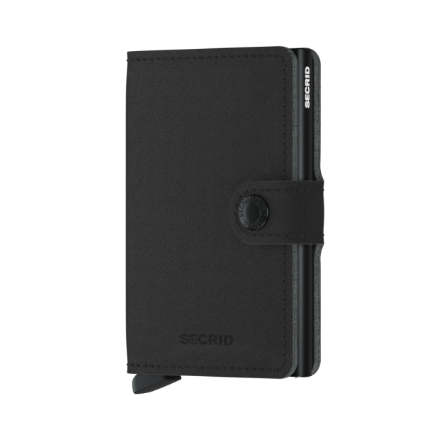 Secrid Mini Wallet Portemonnee Yard Black