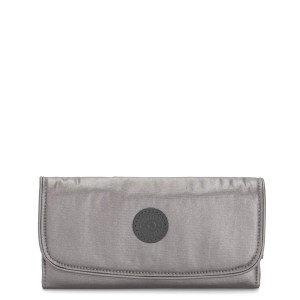 Kipling Money Land Portemonnee Carbon Metallic
