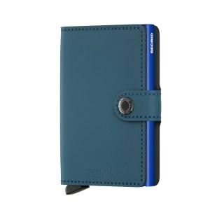 Secrid Mini Wallet Portemonnee Matte Petrol Blue