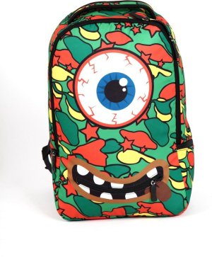 Adventure Bags DLX Laptoptas - Rugzak - 15 l - Groen/Rood/Geel