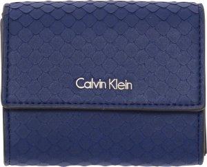 Calvin Klein - Arch - small trifold dames portemonnee - navy