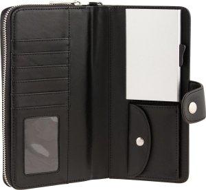 Card Guard Kaartbeschermer Zwart Dames - Protector Wallet Portemonnee - Kaarthouder