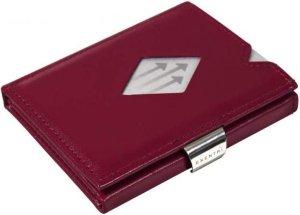 Exentri wallet RFID portemonnee Rood Leer