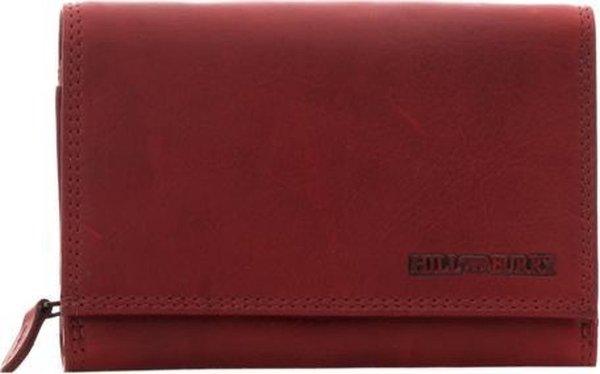 HillBurry - VL777030 - 5031 - dames - portemonnee - rood - leer