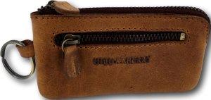 Hillburry - V88860 - sleuteletui - bruin - leer