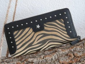 Luxe portemonnee (zebra)