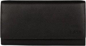 Patchi Dames portemonnee Patchi 88 Leer - zwart