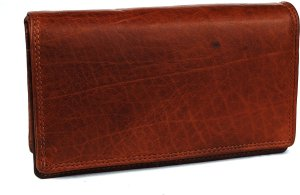 Portemonnee dames Wild Leather Only !!! (FLRS-5017-101-14) -bruin