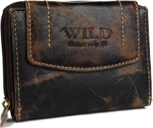 Portemonnee dames wild leather only III (FLRS-30-15) -