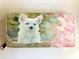 Portemonnee puppy Zwitserse Witte Herdershond