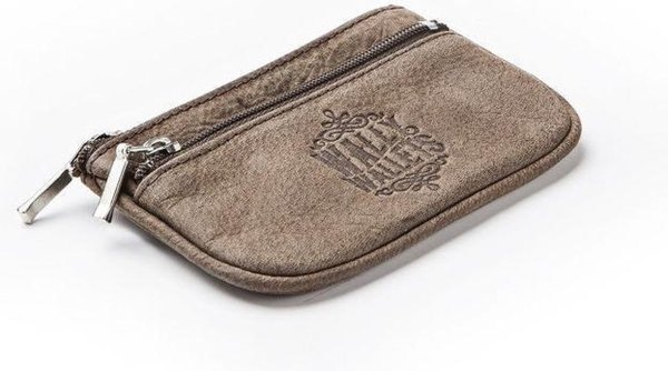 Wally Wallets San Francisco Golden Key Sleuteletui Taupe