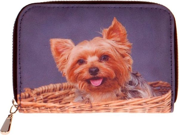 portemonnee yorkshire terrier-