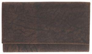 HEMA Leren Portemonnee 10x16.4 - RFID - Bruin