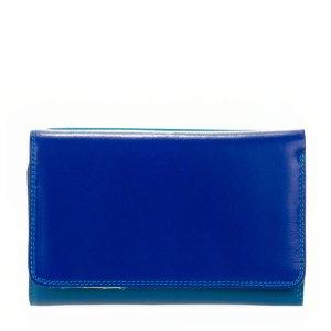 Mywalit Medium Tri-Fold Wallet Outer Zip Portemonnee Seascape