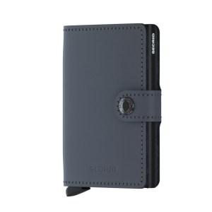 Secrid Mini Wallet Portemonnee Matte Grey Black