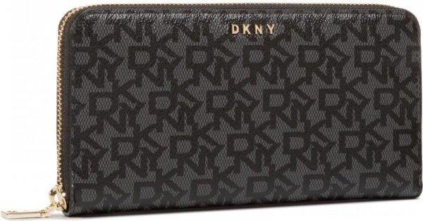 DKNY Bryant dames portemonnee Ebony/Black R831J658